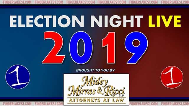 FingerLakes1.com Election Night LIVE 2019