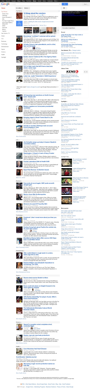 Google News at Tuesday March 12, 2013, 1:07 a.m. UTC