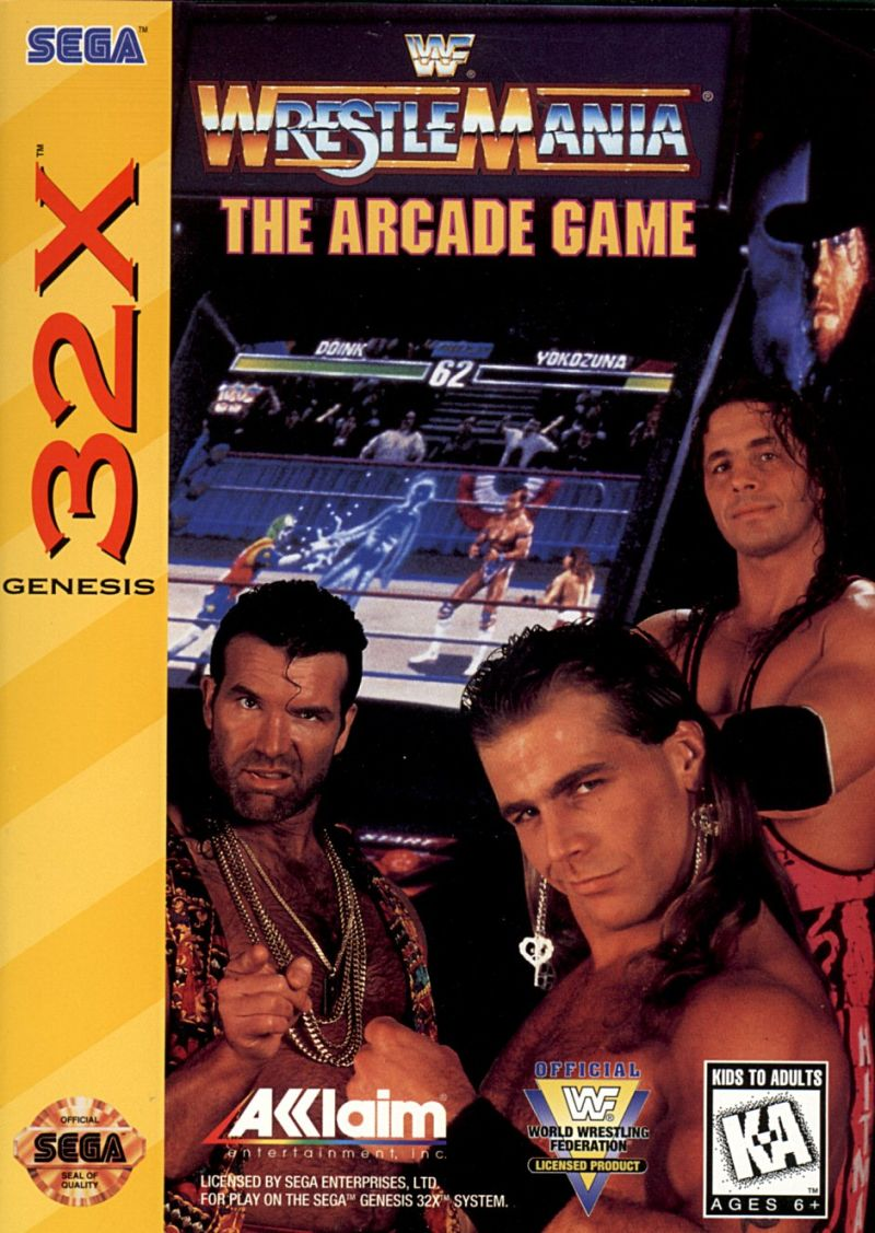 WWF WrestleMania: The Arcade Game (32X)