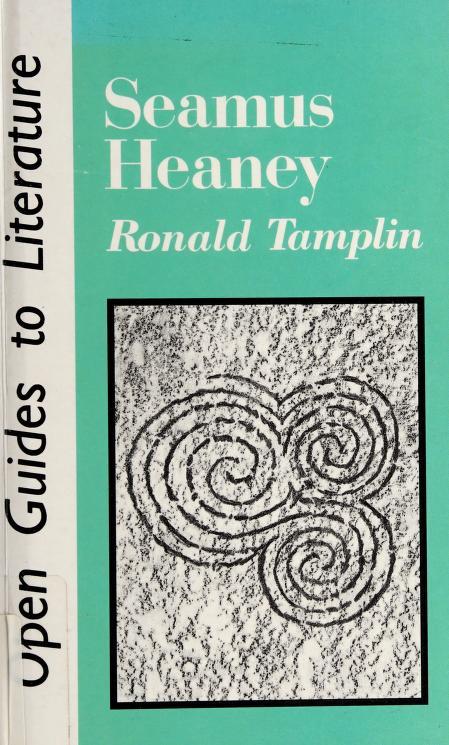 SEAMUS HEANEY by Tamplin R
